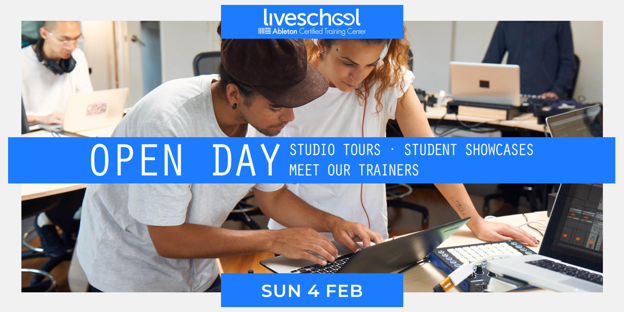 Liveschool Open Day Sunday 4 February 2018