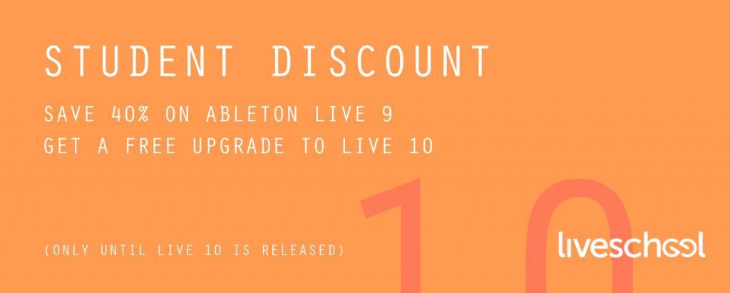Live 10 Beta - student discount