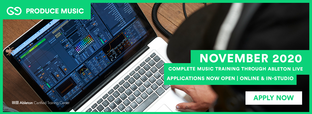 Produce Music Applications Now Open for November 2020