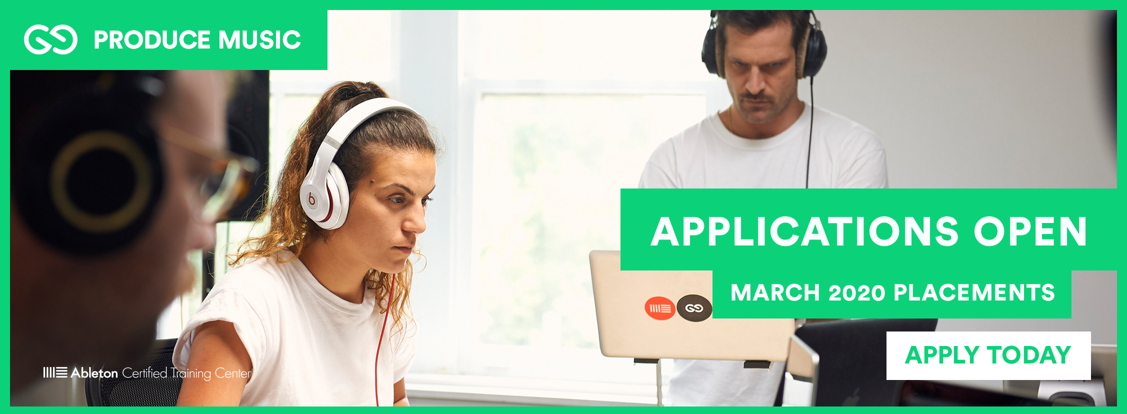 Produce Music | March 2020 Applications Now Open