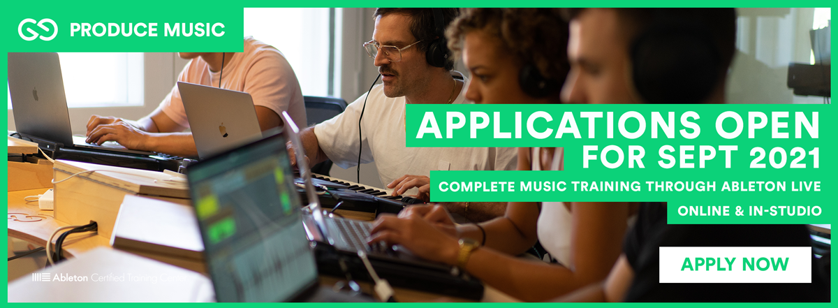Liveschool Produce Music | Ableton | September Applications Open