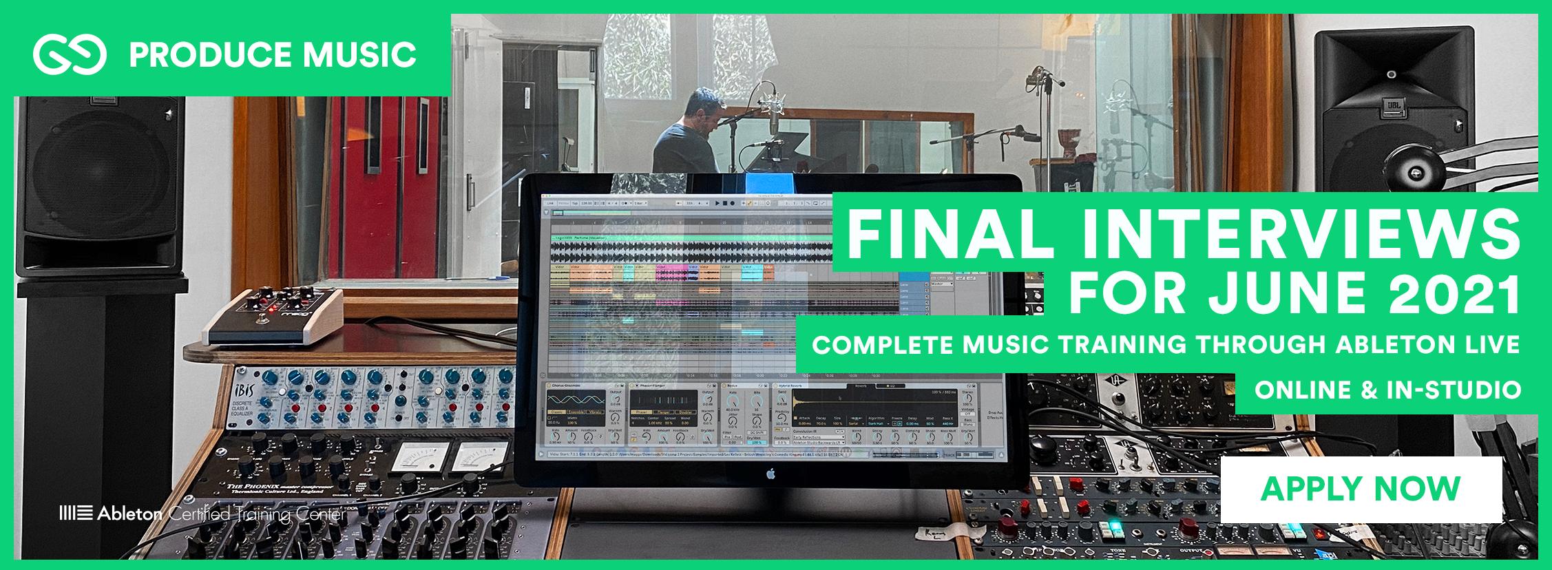 Produce Music | Liveschool | Final Interviews